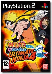 Ultimate Ninja 4: Naruto Shippuden per PlayStation 2