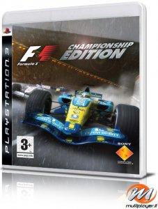 Formula One Championship Edition per PlayStation 3