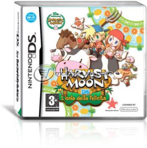 Harvest Moon: L'Isola della Felicità per Nintendo DS