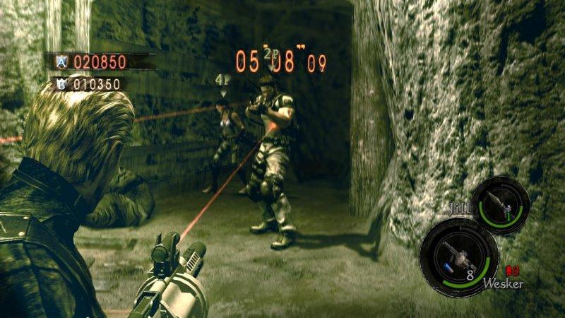 Resident Evil 5 Versus e Golf: Tee it Up a sconto su Live Arcade