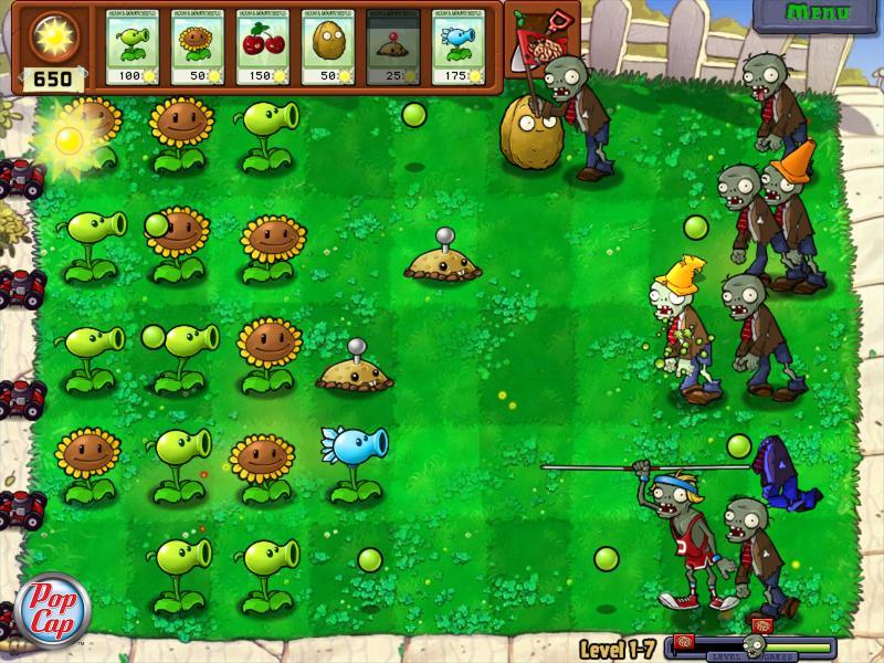 PopCap lavora ad una versione per PSN di Plants Vs. Zombies?