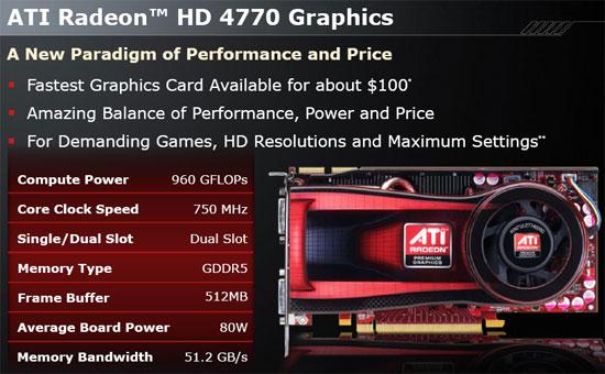 ATI Radeon HD 4770 40nm