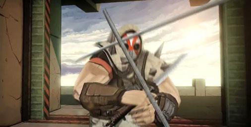 Il protagonista di Red Steel 2 in video