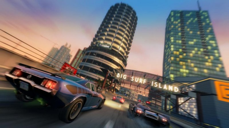 Online Big Surf Island per Burnout Paradise