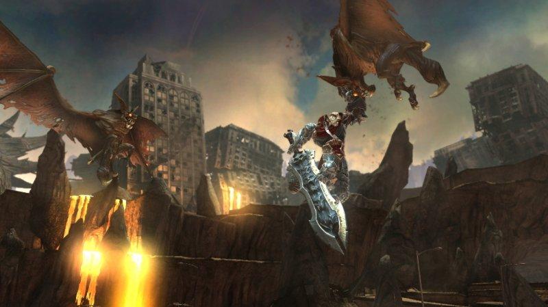 Una patch contro il tearing per Darksiders su 360