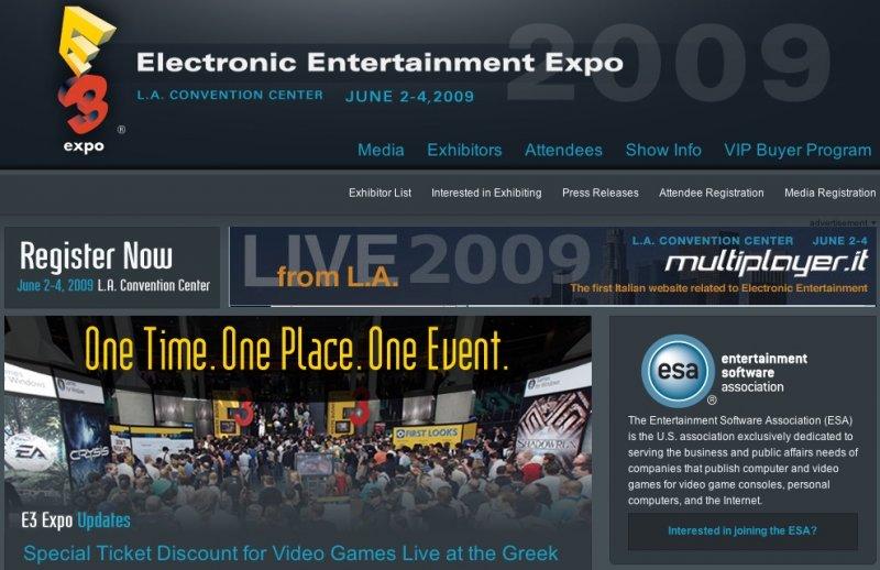Multiplayer.it partner ufficiale dell'E3 2009