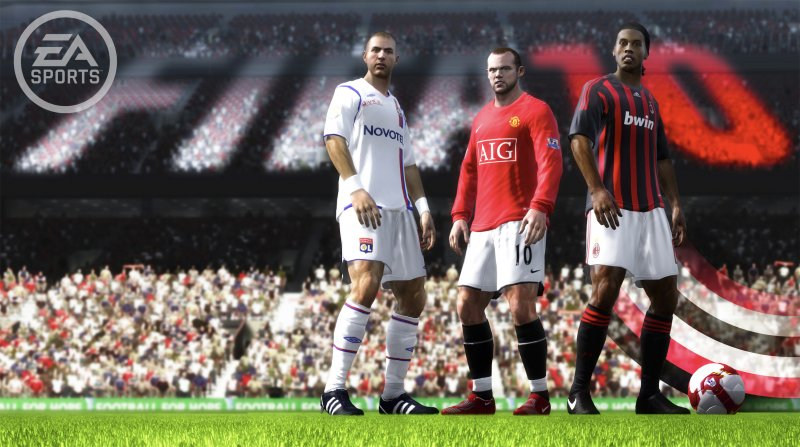 FIFA 10 si mostra in video