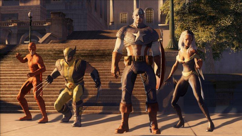 I giochi di Thor e Captain America arrivano nel 2011