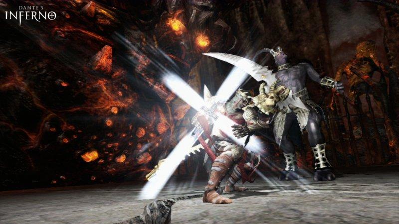 Il gameplay di Dante's Inferno finalmente in video