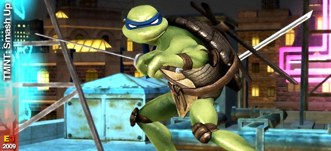 Una data per Teenage Mutant Ninja Turtles Smash Up