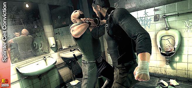 Splinter Cell Conviction e Red Steel 2 rimandati al 2010