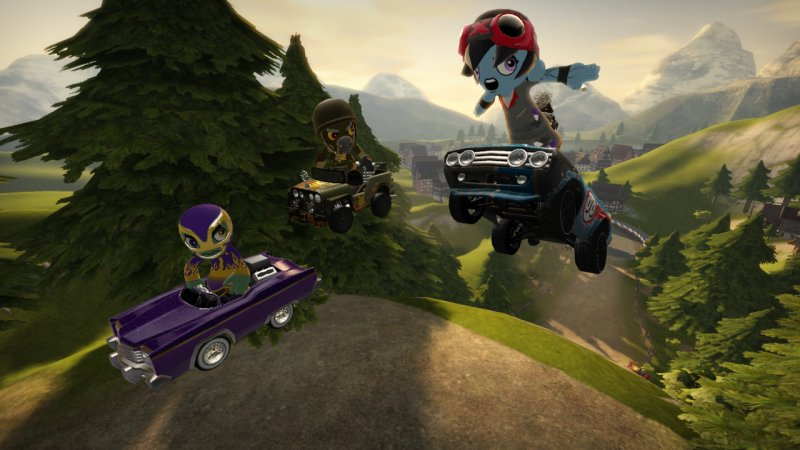 ModNation Racers: multiplayer a quattro in split screen