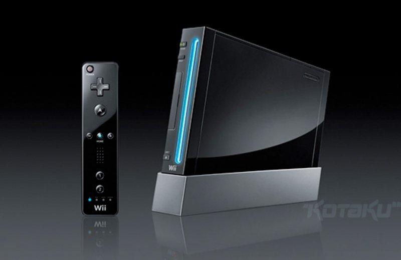 Un Wii nero in arrivo per il Giappone
