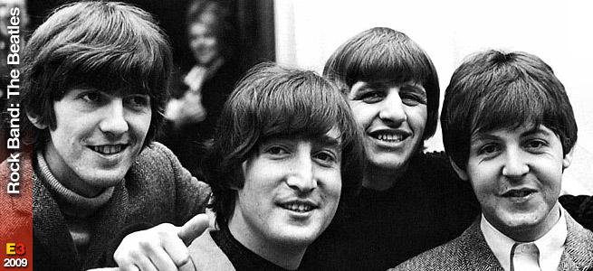 John, Paul, George e Ringo!