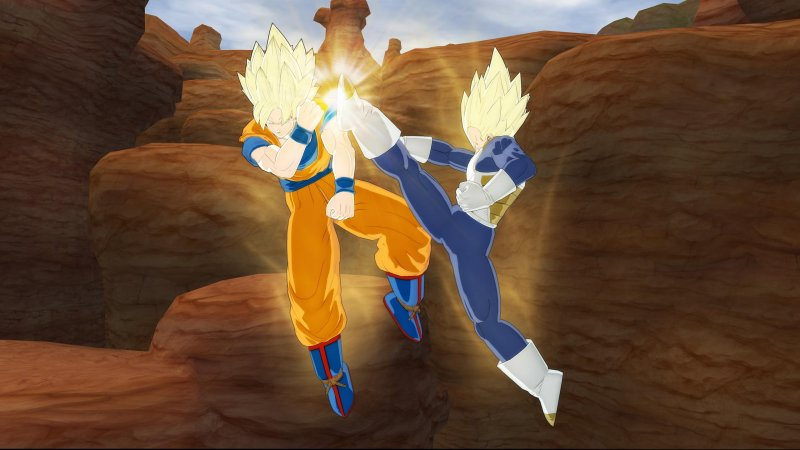 Il video di debutto di Dragon Ball: Raging Blast
