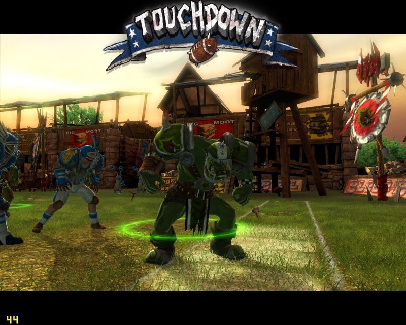 Un trailer di lancio per Blood Bowl