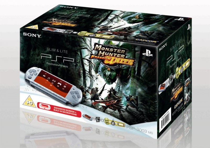 Il bundle PSP - Monster Hunter per l'Europa