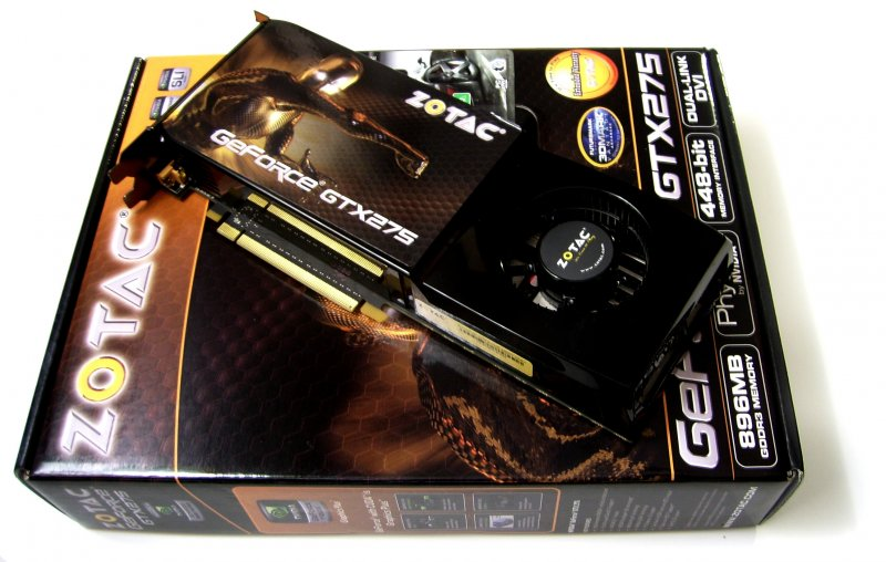ZOTAC GeForce GTX 275