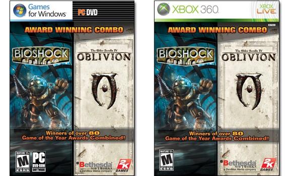 In arrivo un bundle con Bioshock e The Elder Scrolls IV: Oblivion