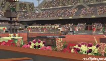 Virtua Tennis 2009 - Federer Nadal vs Williams Ferrer Gameplay