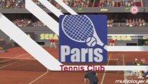 Virtua Tennis 2009 - Federer vs Nadal Gameplay