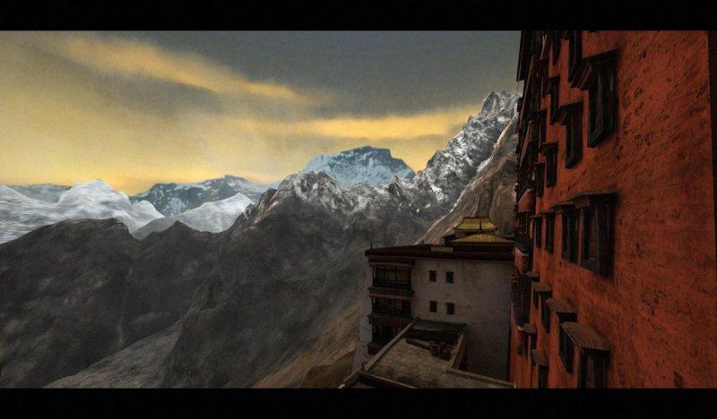 Meglio di una cartina geografica, Cursed Mountain svelato per voi!