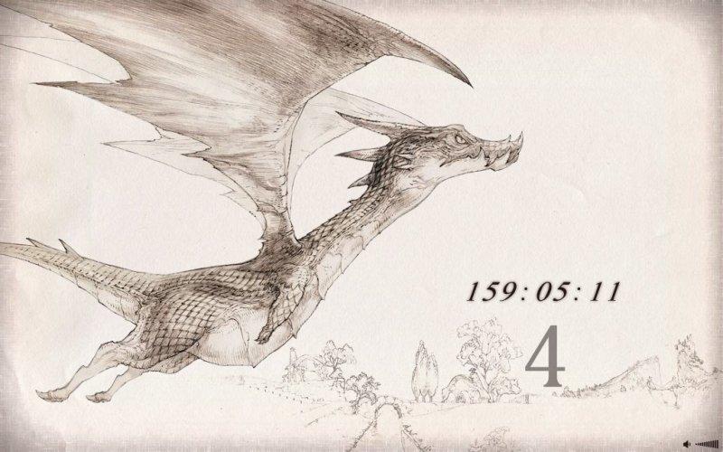 Un drago appare sul sito del countdown di Square Enix