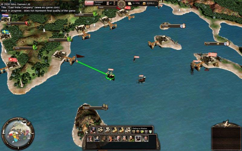 Il multiplayer di East India Company in video