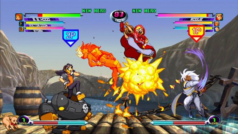 Marvel vs Capcom 2 di nuovo in video