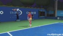 Grand Slam Tennis - Djokovic vs Stich Gameplay