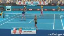 Grand Slam Tennis - Navratilova e Edberg vs Evert e Cash Gameplay