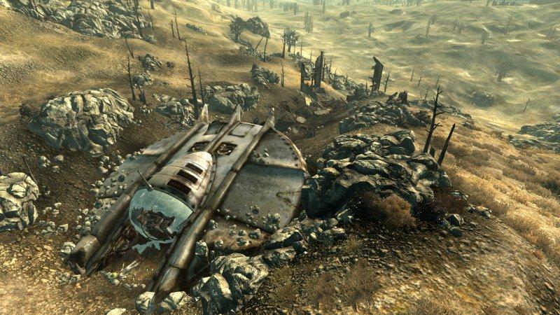 Prime immagini di Fallout 3: Mothership Zeta