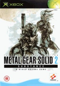 Metal Gear Solid 2 Substance per Xbox