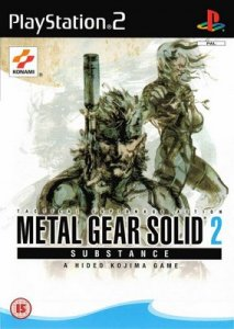 Metal Gear Solid 2 Substance per PlayStation 2