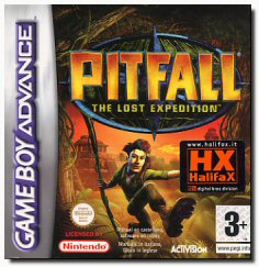 Pitfall: The Lost Expedition per Game Boy Advance