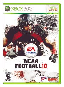 NCAA Football 10 per Xbox 360
