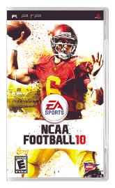 NCAA Football 10 per PlayStation Portable