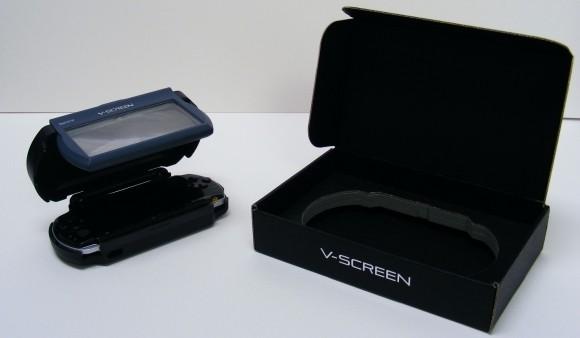 Un visore 3D per PSP