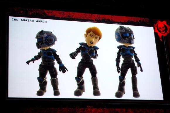Costumi a tema Gears of War per gli avatar