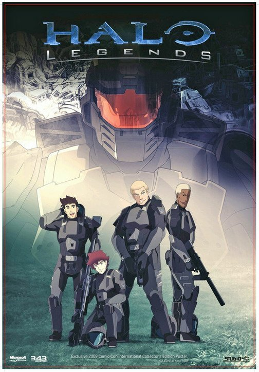 halo legends the package