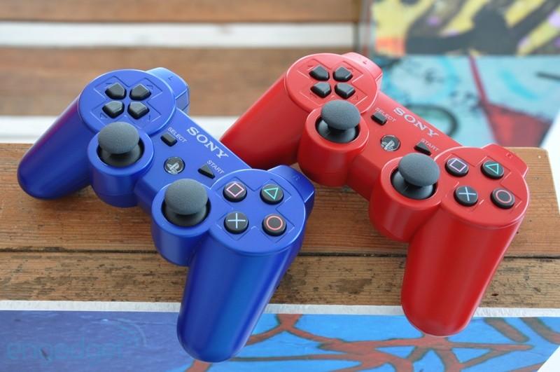 DualShock 3 blu e rossi arrivano in America