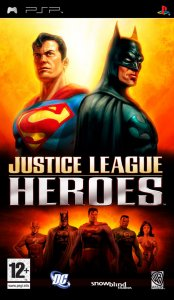 Justice League Heroes per PlayStation Portable