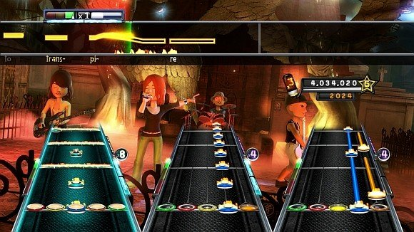 Jonny Cash in un video di Guitar Hero 5