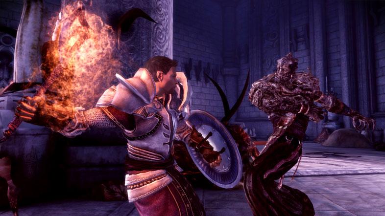Wynne si mostra in un video di Dragon Age: Origins