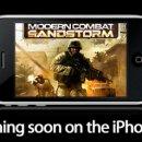 Una tempesta di sabbia su iPhone