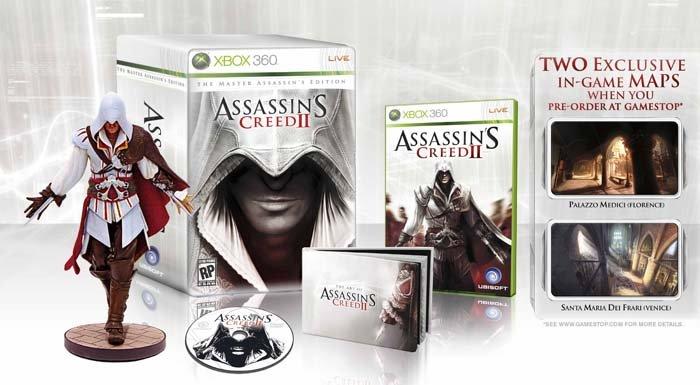 I contenuti della Limited Edition di Assassin's Creed II