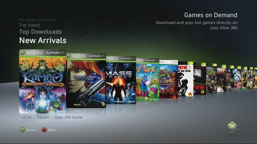 Il prezzo dei titoli Games On Demand su Xbox Live?