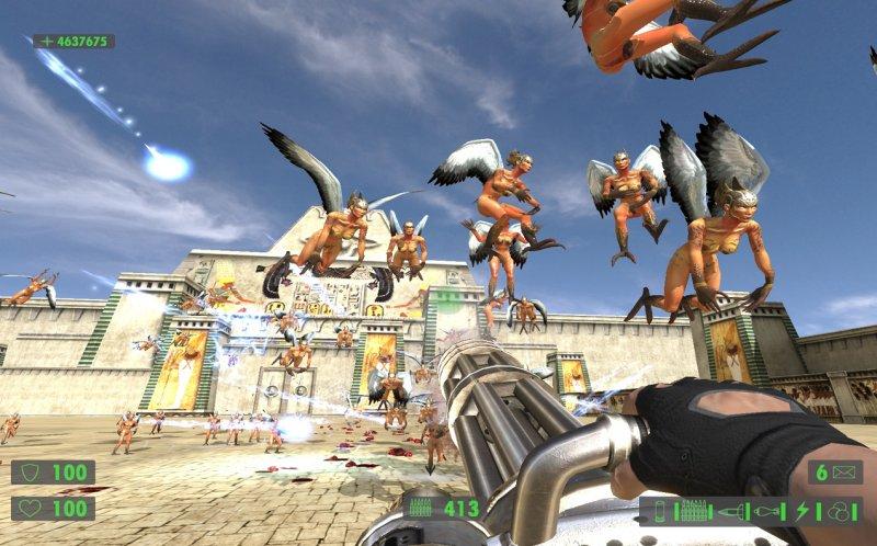 Rimandata la versione X360 di Serious Sam HD