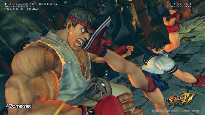 Street Fighter IV è il nuovo Games of Demand