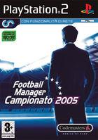 Football Manager Campionato 2005 per PlayStation 2